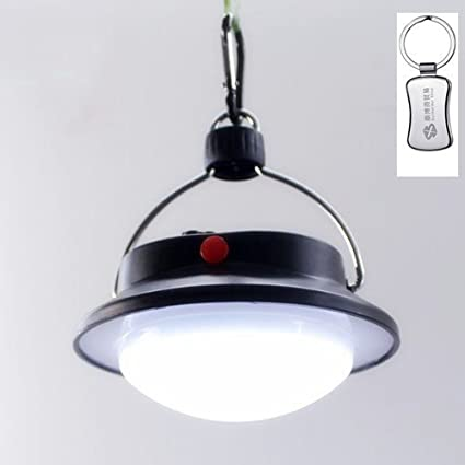 Surborder 60 LED Portable Camping Tent Umbrella Night Light Lamp Lantern Outdoor Hiking A