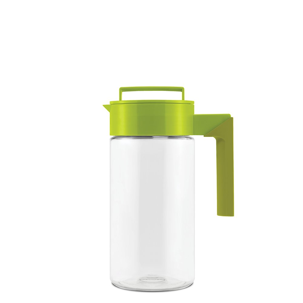 Takeya Patented and Airtight Pitcher Made in the USA, 1 Quart, Avocado