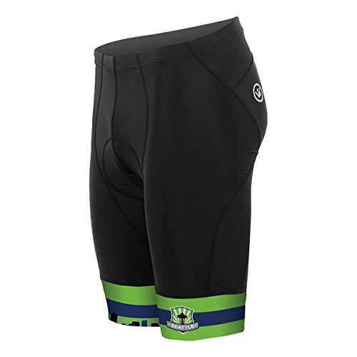 Canari Cyclewear Women's Seattle Mulan Cycling Short - 2098-STC (Seattle - S)