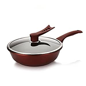 Top Quality Large Die Casting Smokeless Nonstick Frying Pan 30cm