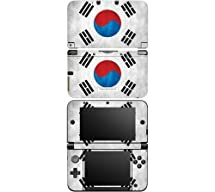 nintendo 3ds xl decal skin sticker flag of south korea by decalskin video games. Black Bedroom Furniture Sets. Home Design Ideas
