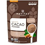Navitas Organics Cacao Powder, 8oz. Pouch(packaging may vary)