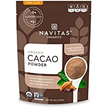 Navitas Organics Cacao Powder, 8 oz. Bag — Organic, Non-GMO, Fair Trade, Gluten-Free