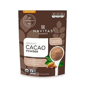 Navitas Organics Cacao Powder, 8oz. Pouch