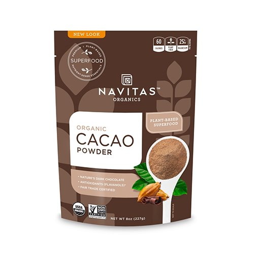 Navitas Organics Cacao Powder 8 oz. Bag