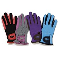 Tough 1 Childs Pony Gloves 6-8 Brn/Choc