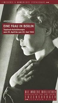 Eine Frau in Berlin par Marta Hillers