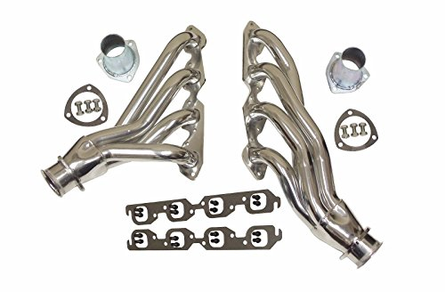 For BBC Camaro Chevelle Ceramic Coated Shorty Headers Steel Chevy 396 402 427 - Steel Chevelle