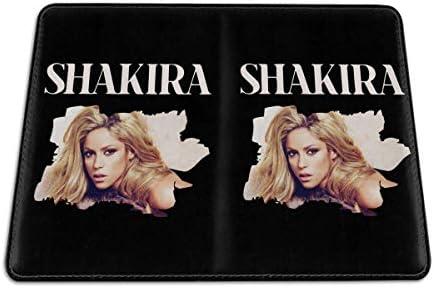 シンガー シャキーラ Shakira EL Dorado パスポートケース メンズ 男女兼用 パスポートカバー パスポート用カバー パスポートバッグ 小型 携帯便利 シンプル ポーチ 5.5インチ高級PUレザー 家族 国内海外旅行用品