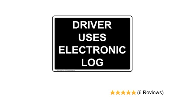 multi color or reflective 2 pcs ELD Electronic Log Book in use Vinyl Decal Sticker for truckers driving Truck Van semi