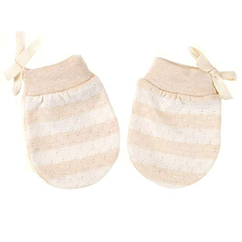 Adeimoo Baby Cotton Gloves Newborn Infant Toddler No Scratch Mittens