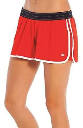 Champion Double Dry Eco™ Women's Training Shorts, M-Black/White