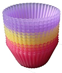 Regency Wraps Silicone Pastel Sili-Cups, Standard, Set of 12