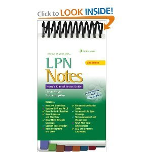 LPN Notes (Spiral-bound) by Ehren Myers
