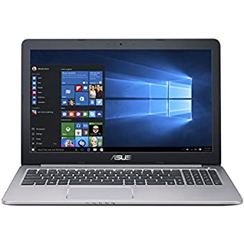 ASUS K501UX 15.6-inch Gaming Laptop (Intel Core i7 Processor, NVIDIA GTX 950M, 8GB RAM, 256GB SSD Hard Drive, Windows 10 (64 bit)), Black/Silver Metal