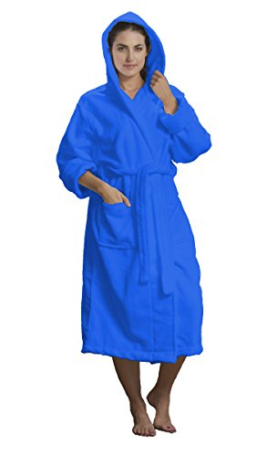 byLora Unisex Microfiber Hooded Robes