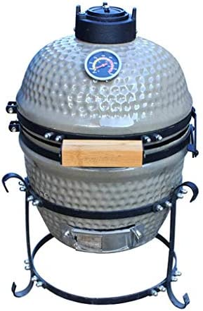 LFDHSF Barbecue Grill - Grill extérieur en céramique 13 Pouces Jardin Camping Barbecue Émail Grill Amovible Egg Charcoal Grill / - /