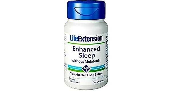 Mejorado Sueño Natural (Sin Melatonina) 30 Cápsulas: Amazon.es: Salud y cuidado personal