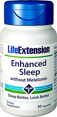 (Life Extension Enhanced Sleep Without Melatonin, 30 Capsules)