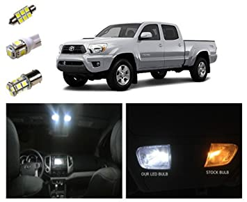 05 15 Toyota Tacoma LED Package Interior + Tag + Reverse Lights (9 Pieces