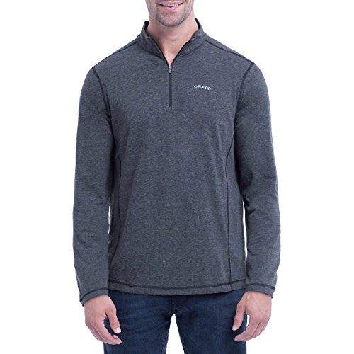 Orvis Men's Sandy Point ¼ Zip Pullover (M, - Squared 51