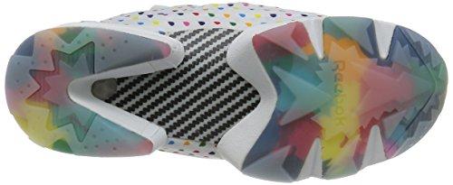 Fury OG White Cream Rainbow white Coral Instapump Rain Reebok Steel Drop 5wpx4gEfq