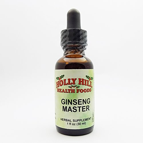 Red Ginseng Chinese Alcohol (Holly Hill Health Foods, Ginseng Master, 1 Ounce)