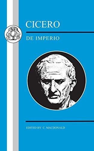 Cicero: De Imperio (Latin Texts)