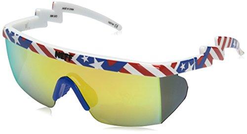 Neff Men's Brodie, American, One - Viper Sunglasses Pit