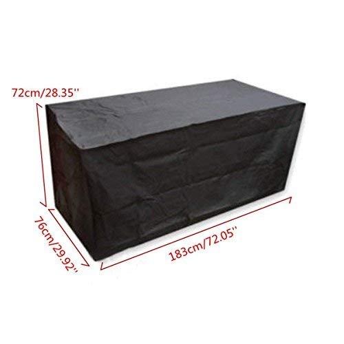 Patio Furniture Set Covers Waterproof Outdoor Furniture Protector Dust Proof Protective Covers, 183x76x72cm dDanke