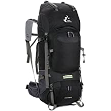 Free Knight 60L Hiking Backpack Mountaineering Camping Trekking Travel Bag Large Capacity Rucksack Internal Frame Water Resistant for Outdoor