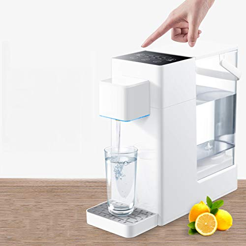 Hot Water Dispensers Home Desktop Mini hot Water Dispenser Office Small hot Water Dispenser Small Household Electric Thermos Bedroom Small Coffee hot Water Dispenser by Combination Water Boilers Warmers (Image #2)