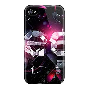 AnnaDubois Iphone 4/4s Great Cell-phone Hard Covers Allow Personal Design Nice Rise Against Series [SIl4360GcIE]
