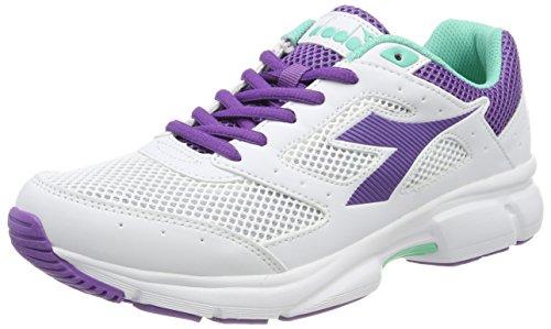 Uomo Diadora Shape Biancobianco Viola Running 9Scarpe Da m0vN8wnO