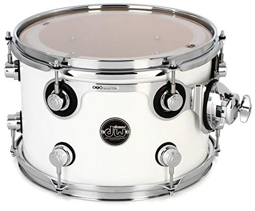 DW Performance Series Mounted Tom - 8'' x 12'' Gloss White Lacquer