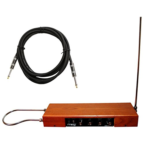 MOOG Etherwave Standard Theremin Pre-Assembled Ash Cabinet w/Instrument Cable