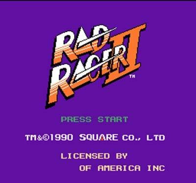 Rad Racer - 8