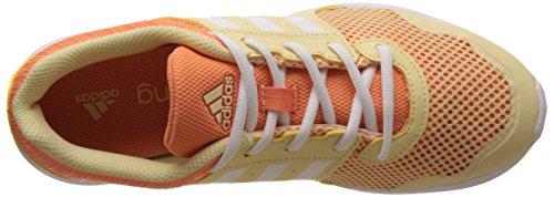 adidas Essential Fun Ii W, Zapatillas para Mujer Amarillo (Amasen/ftwbla/narsen)