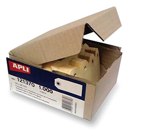 APLI 121377Confezione da 1000Etichette americane in tavola di 4, 140x 70mm