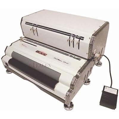 Image of Binding Machines Akiles CoilMac-EPI 4:1 Pitch Electric Coil Binding Machine w/ HD Electric Inserter