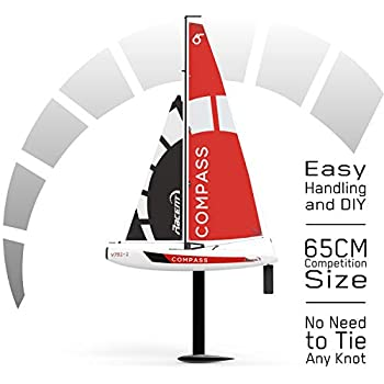 Amazon com: DragonForce 65 v6 Racing Sailboat 2 4GHz Ready