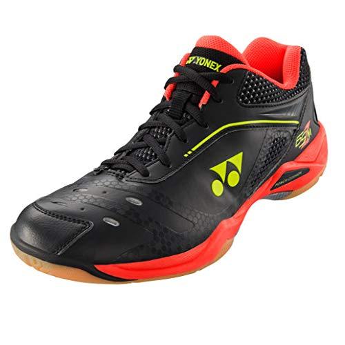 Red Yonex SHB 65ZM Power Cushion Mens Badminton shoes