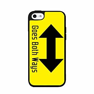 Both Ways Plastic Phone Case Back Cover iPhone 5c