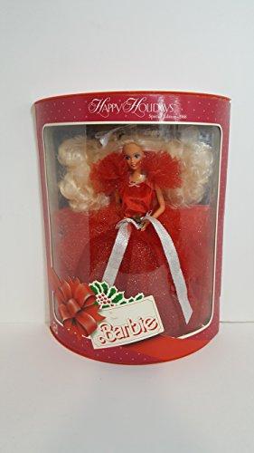 Barbie 1988 Happy Holidays - 1988 Doll Barbie