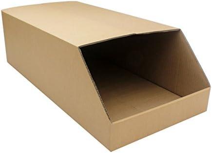 Storage Bins Jumbo Heavy Duty Picking Cardboard Pick Shelf Rack