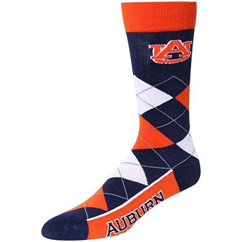 NCAA Auburn Tigers Argyle Unisex Crew Cut Socks - One Size Fits Most ()