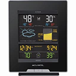 AcuRite 02008A1 Digital Weather Station with Reverse Color Display