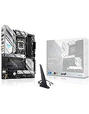 ASUS Placa mãe ROG Strix B560-A Gaming WiFi LGA 1200 (Intel 11ª/10ª geração) ATX (PCIe 4.0, 8+2 estágios de potência, cancelamento de ruído bidirecional, WiFi 6, 2,5 GB LAN, 2 compartimentos M.2, USB 3.2 Geração 2x2 USB tipo-C)