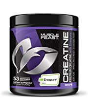 Muscle Feast Creapure Creatine Monohydrate Powder, Premium Pre-Workout Or Post-Workout, Easy To Mix, Gluten-Free, Safe And Pure, Kosher Certified