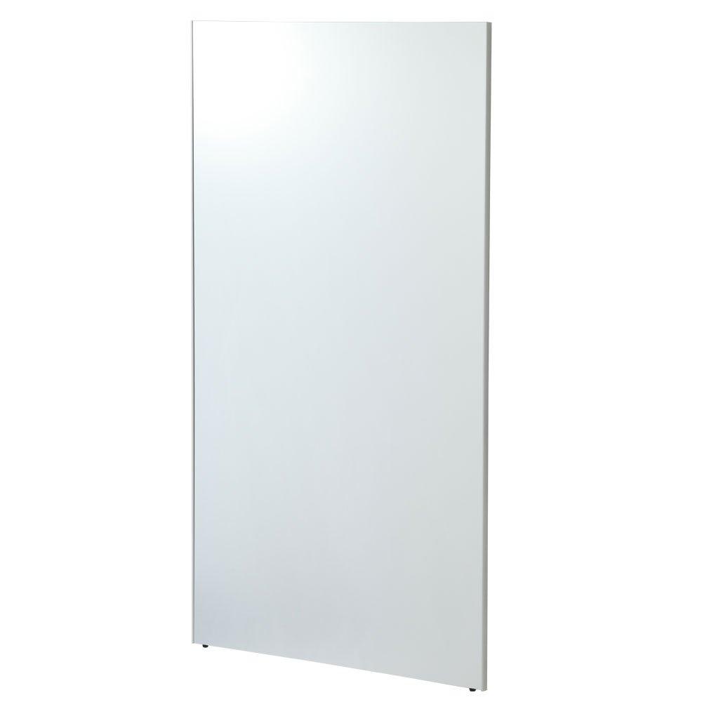 【80cm幅】 鏡 スタンドミラー 全身 ウォールミラー 壁掛け 姿見 割れない 日本製 〔細枠〕シルバー〔B〕 B01CQE40LC シルバー〔B〕 シルバー〔B〕